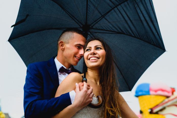 Sesja ślubna w Energylandii
