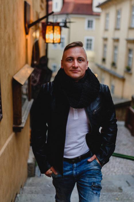 Sesja zdjęciowa w Pradze