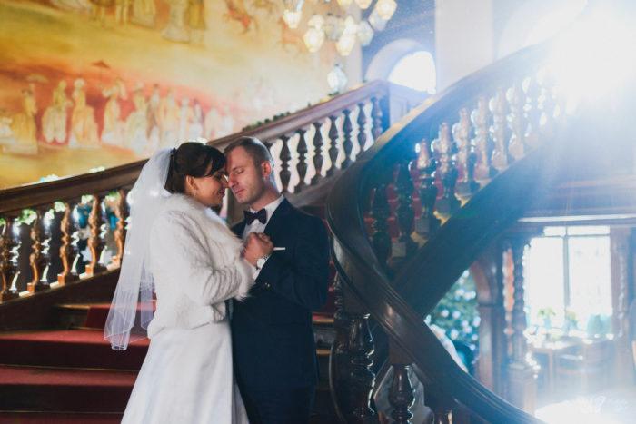 Sesja ślubna w Zamku w Mosznej