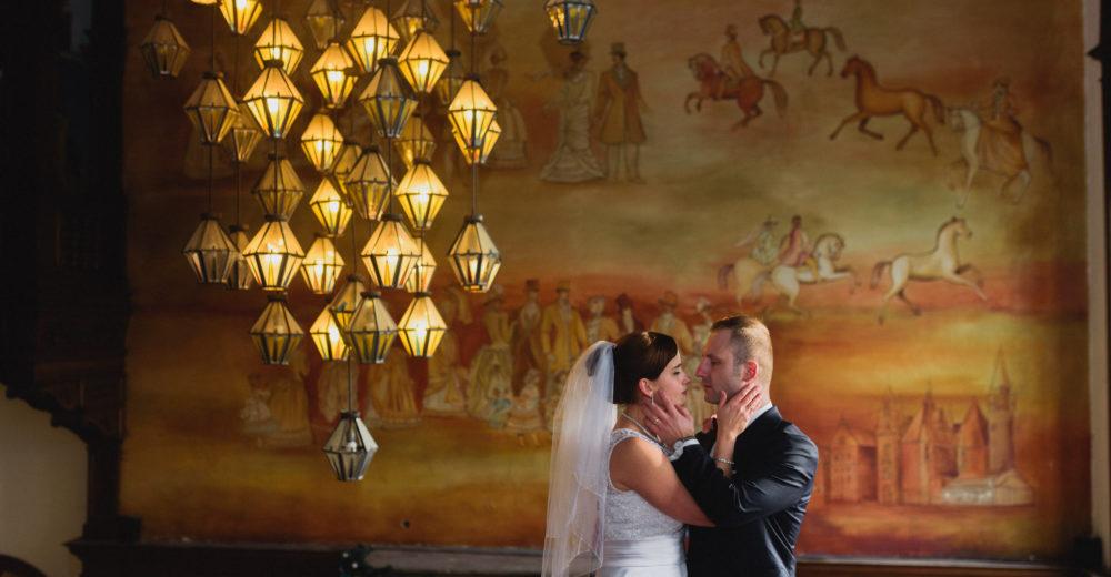 sesja ślubna zamek w mosznej