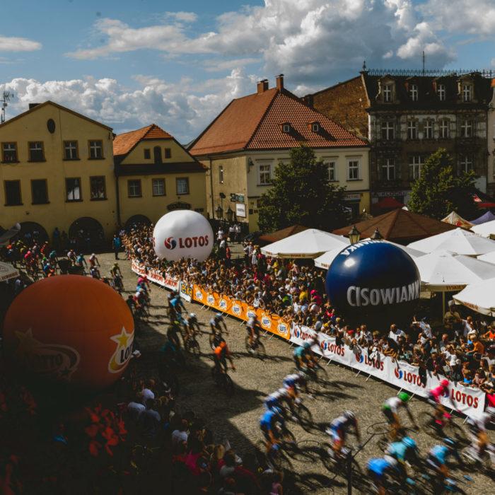 Tour de Pologne w Tarnowskich Górach