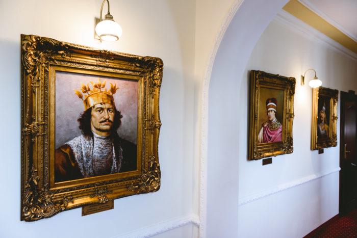 Zdjęcia wnętrz pałacu
